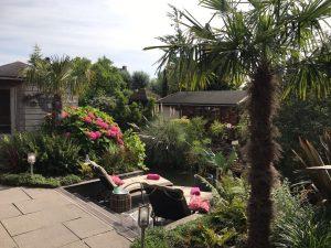 Aanleg tuin Maasvlakte
